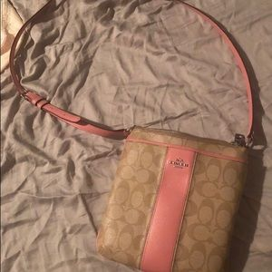 Authentic COACH crossbody bag